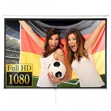Beamer Leinwand Heimkino 305x230cm (382cm Bilddiagonale / 150Zoll) HDTV/3D tauglich -