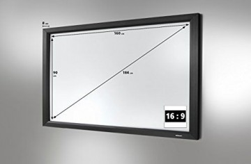 celexon Home Cinema frame screen - Leinwand - 184 cm ( 72 Zoll ), 1090227 -
