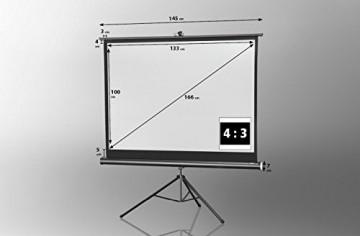 celexon Stativleinwand Economy 133 x 100 cm -