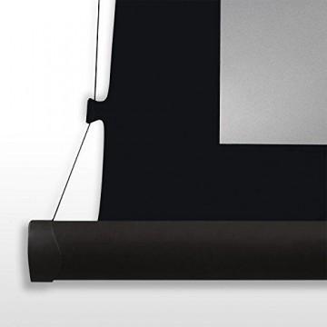 eSmart Germany Professional 3D-Tension-Leinwand TATENSO SILBER | Gesamtbreite 296 cm | Darstellungsfläche 266 x 149 cm (120