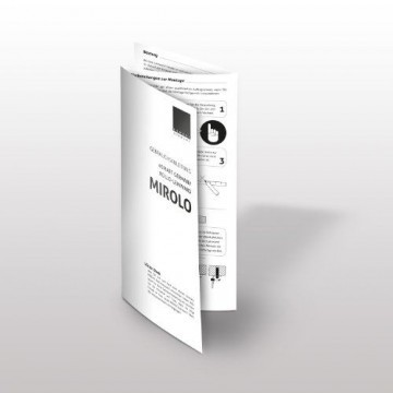 eSmart Germany Rollo Leinwand MIROLO | Gesamtbreite 283cm | Darstellungsfläche 266cm x 149cm | 16:9| Modell 2016 -