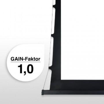 eSmart Germany Tension Leinwand TATENSO | Gesamtbreite 379cm | Darstellungsfläche 332cm x 187cm (150