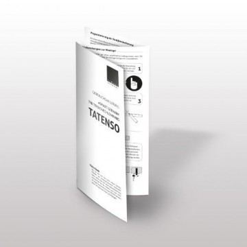 eSmart Germany Tension Leinwand TATENSO | Gesamtbreite 269cm | Darstellungsfläche 221cm x 125cm (100