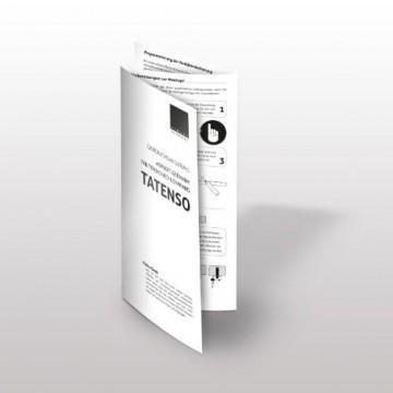 eSmart Germany Tension Leinwand TATENSO HIGH CONTRAST GRAU | Gesamtbreite 343cm | Darstellungsfläche 295cm x 165cm (133