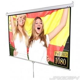 Jago Beamer Leinwand Heimkino 203x203cm (Diagonale ca. 289cm / 113 Zoll) HDTV tauglich -
