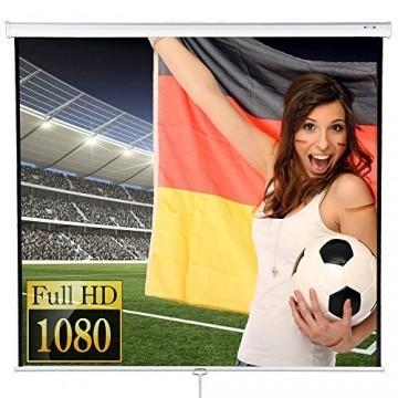 Jago Beamer Leinwand Heimkino 244 x 182cm (Diagonale ca. 120 Zoll / 304 cm) HDTV/3D tauglich -