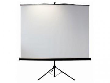 Leinwandking Stativleinwand 200 x 200cm,Leinwand Format 1:1, Heimkino Leinwand, Beamerleinwand,3D Leinwand,Full HD Leinwand, mobile Leinwand -