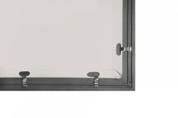 Medium Frame Rahmenleinwand für Wandbefestigung 180x102cm (Format 16:9) -