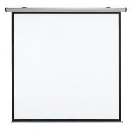 Medium Rolloleinwand Design-Rollo manuell 200x200cm mit schwarzem Rand (Format (1:1) -