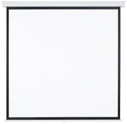 Medium Rolloleinwand Premium 180x180cm mit schwarzem Rand (Format 1:1) -