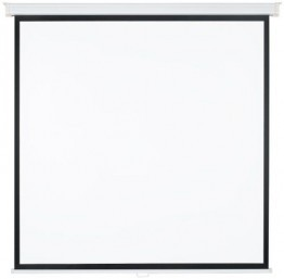 Medium Rolloleinwand Premium 203x203cm mit schwarzem Rand (Format 1:1) -