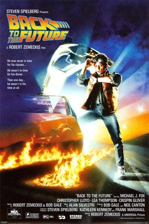 Back To The Future – Michael J. Fox – Film Kino Movie Poster - 1