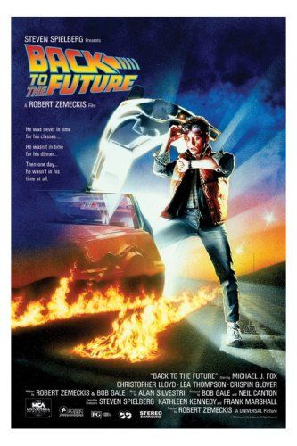 Empire 261632 Back To The Future - Michael J. Fox, Film Kino Movie Poster ca. 91,5 x 61 cm -