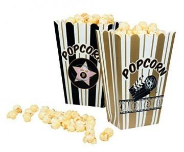 NEU Popcorn Tüte, 4 Stück sortiert -