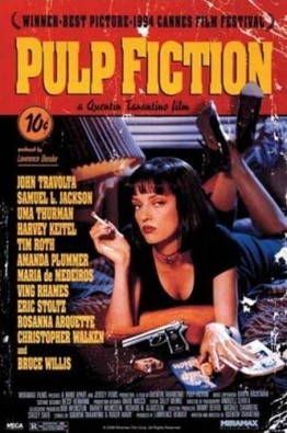 Pulp Fiction – Filmplakat, Film Kino Movie Poster ca. 61 x 92 cm - 1