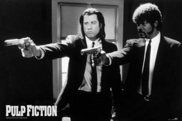 Pulp Fiction – Guns – Film Kino Movie Poster ca. 91,5 x 61 cm - 1