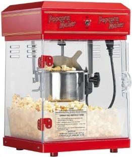 """Rosenstein & Söhne Profi-Popcorn-Maschine """"Cinema"""" mit Edelstahl-Topf -"""