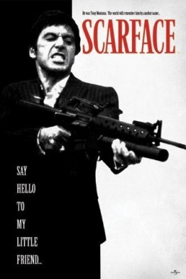 Scarface – Say Hello to my Friend – 61×91,5 – Poster - 1