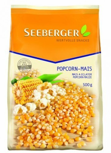 Seeberger Popcorn-Mais, 10er Pack (10x 500 g Packung) - 1