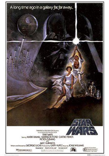 Star Wars – White Lasercross – Film Movie Poster Druck – 61 x 91.5 cm - 1