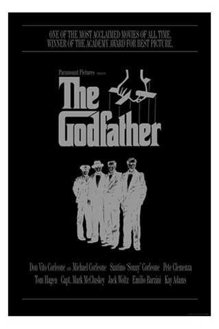 The Godfather – Der Pate – Corleone Family, Film Kino Movie Poster ca. 91,5 x 61 cm - 1