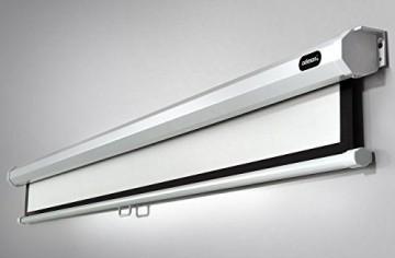 Celexon Rolloleinwand Economy   Format 16:9   Fläche 305 x 172 cm   Beamerleinwand geeignet für jeglichen Projektortyp   Auch als Full-HD und 3D Leinwand einsetzbar   einfache Installation & gute Planlage   -
