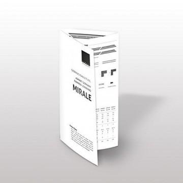 eSmart Germany MIRALE Rahmen Leinwand HIGH CONTRAST GRAU | Gesamtbreite 215 cm | Darstellungsfläche 203 x 114 cm (92