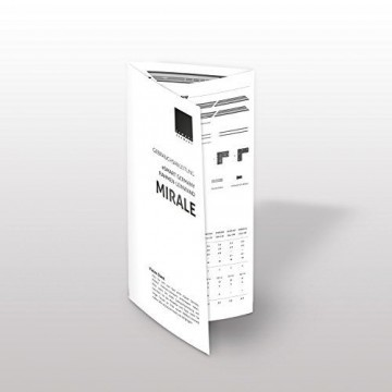 eSmart Germany MIRALE Rahmen Leinwand HIGH CONTRAST GRAU | Gesamtbreite 313cm | Darstellungsfläche 295cm x 165cm (133