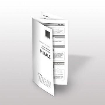 eSmart Germany MIRALE RAHMEN LEINWAND | Gesamtbreite 284 cm | Darstellungsfläche 266cm x 149cm | Bildformat 16:9 | mit Vollmaskierung | Modell 2016 -