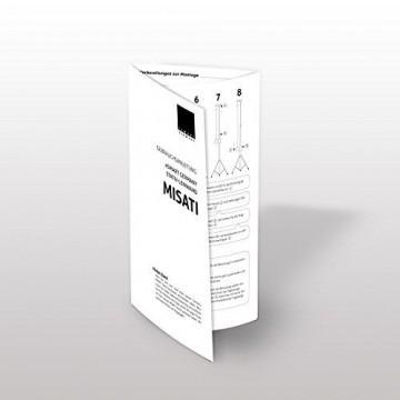 eSmart Germany Stativ Leinwand MISATI | Gesamtbreite 220 cm | Darstellungsfläche 203 x 114 cm | Bildformat 16:9 | mit Vollmaskierung | Modell 2016 -