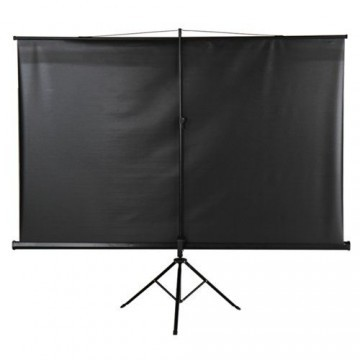 Jago Beamer Leinwand Heimkino 178 x 178 cm (Diagonale ca. 252 cm / 99 Zoll) HDTV inkl. Stativ -