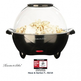 Rosenstein & Söhne Profi-Popcorn-Maschine für zu Hause -