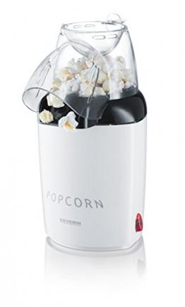 Severin PC 3751 Popcornautomat, weiß -