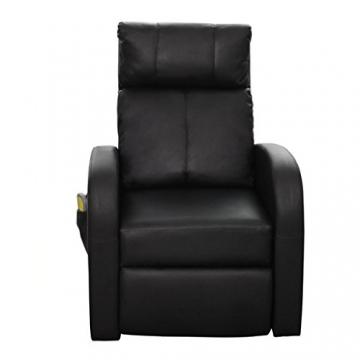 1er vidaxl kinosessel massagesessel fernsehsessel mit. Black Bedroom Furniture Sets. Home Design Ideas