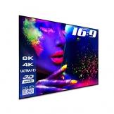 "ESMART Expert UKD Akustik Rahmen-Leinwand 332 x 187 cm (150"") 16:9 | Vollmaskierung | Heimkino Beamer Projektionsleinwand Rahmen Leinwand LCD LED - 1"