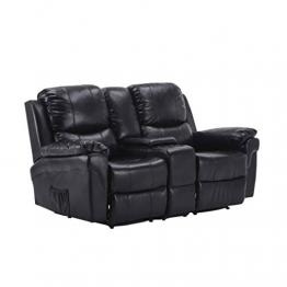 MCombo Kinosessel Fernsehsessel Relaxsessel 2-Sitzer Heimkino Cinema Sessel Sofa - 1